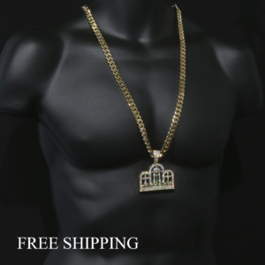 14k Gold Plated Big Last Supper Pendant w/30