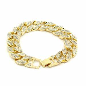 14k Cross Bundle Watch & Bracelet Set