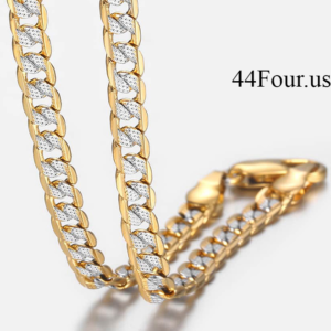 14k Gold Filled Cuban Link Chain
