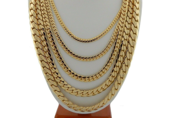 14k Stamped Miami Curb Cuban link