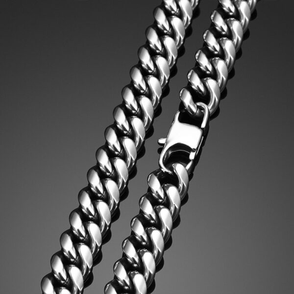 Men's Stainless Steel Miami Curb Cuban Link