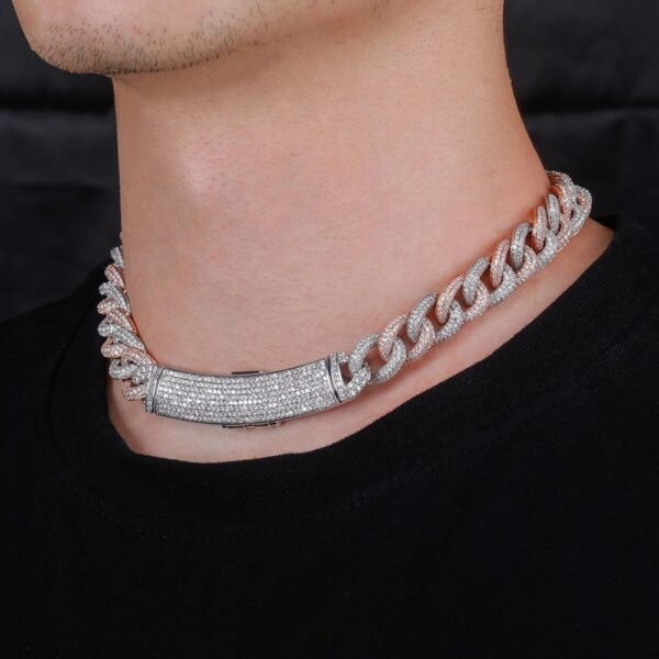 Iced Out Zircon Micro Pave Hip-hop Cuban Link