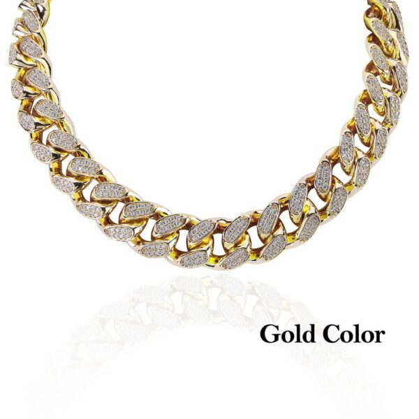 Heavy Iced Out Miami Cuban Link Choker