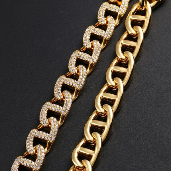 Iced Out Bling CZ Miami Cuban Chain
