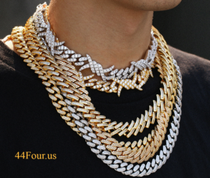 Iced Out Miami Cuban Chain Hip Hop Jewelry New Arrival