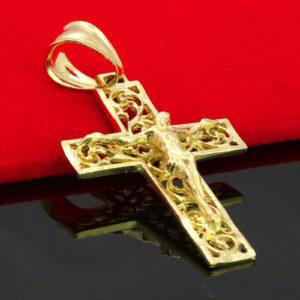 JESUS CROSS CRUCIFIX w/18