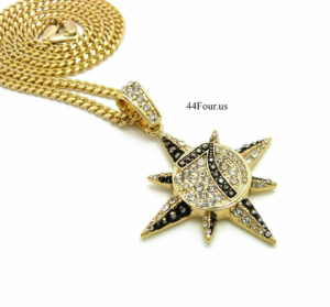 "7 STAR PENDANT w/24"" Chain Of Choice"