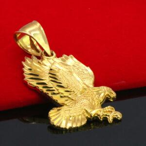 Eagle D-Cut Pendant w/18