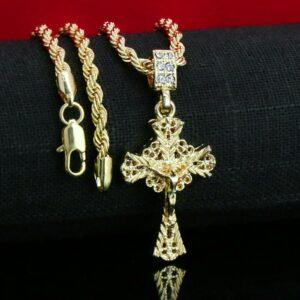 Jesus Cross D-Cut w/ 24