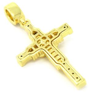 Jesus Cross Pendant w/4mm 24