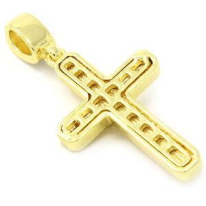 Jesus Cross Pendant With 24