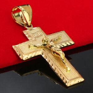 Jesus INRI Cross 14k Stamped18