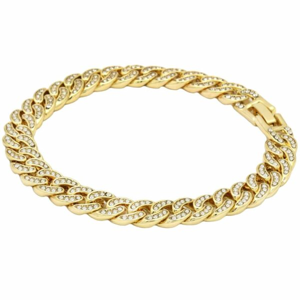 Iced Out Miami Curb Cuban Bracelet