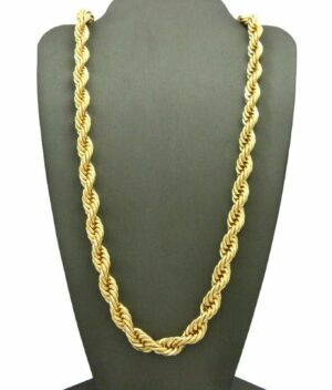 """RAPPER FASHION THICK ROPE CHAIN 8mm 24"""""""
