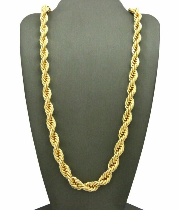 RAPPER FASHION THICK ROPE CHAIN 8mm 24""