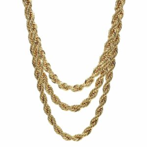 Rope Chain Necklace 10mm 22