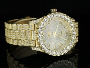 Men's Techno Pave Iced Out Watch