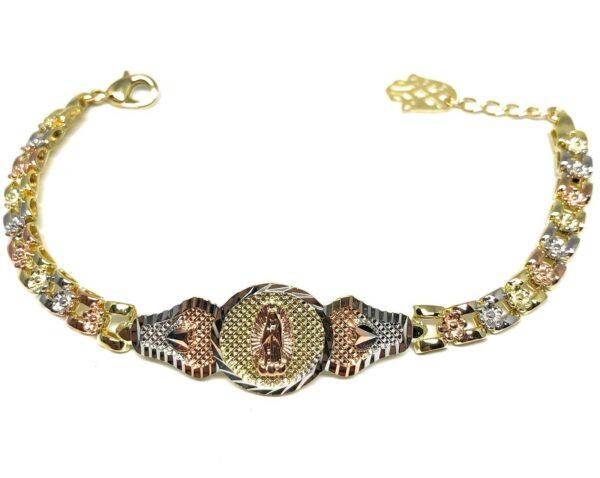 "Virgin Mary Bracelet Virgen De Guadalupe Pulsera 8"""