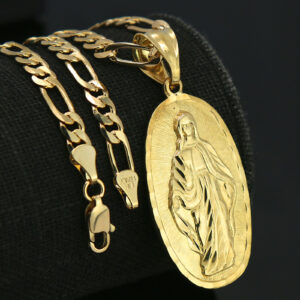 Our Lady Of Guadalupe Pendant With 18