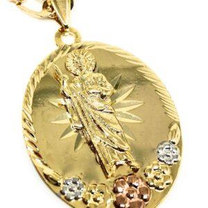 San Judas Medalla Saint Jude Pendant 26