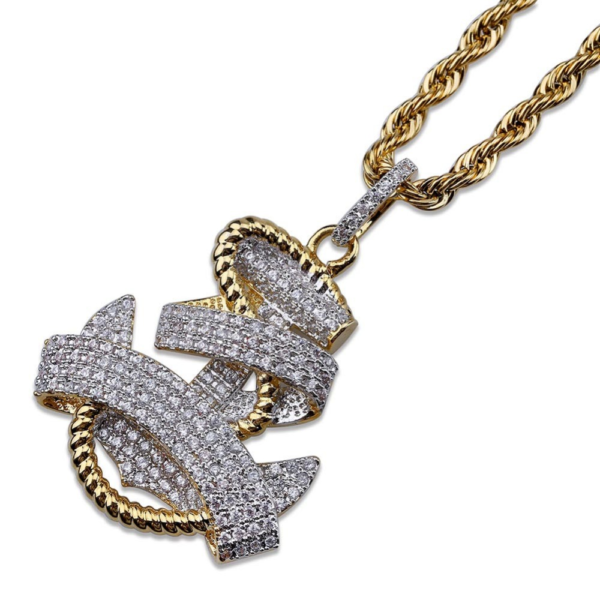 Anchor Pendant With Necklace