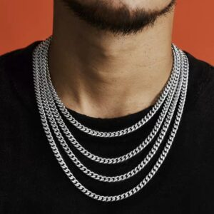 D&Z Hip Hop Rapper's Cuban Chain Width 6mm 20
