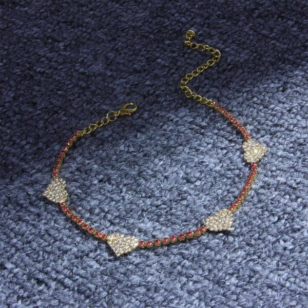 Bohemian Fashion for Women Jewelry Heart Anklets