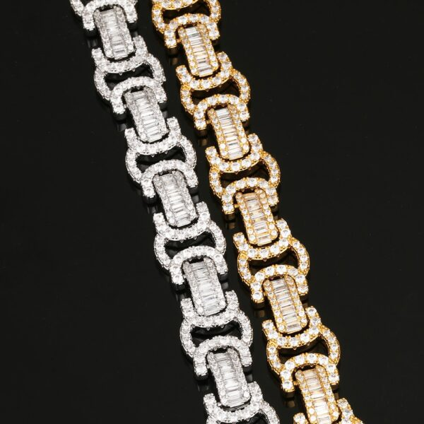 Miami Cuban Link Chain Bracelet And Necklace