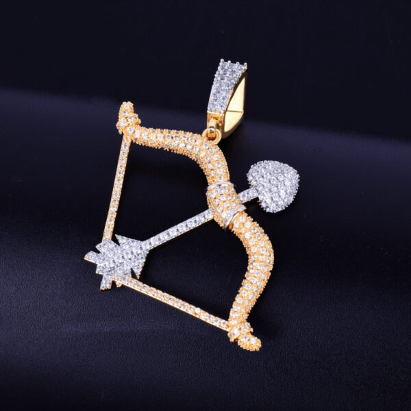 Bow & Arrow Love Charm Pendant Fashion Jewelry Necklace Chains