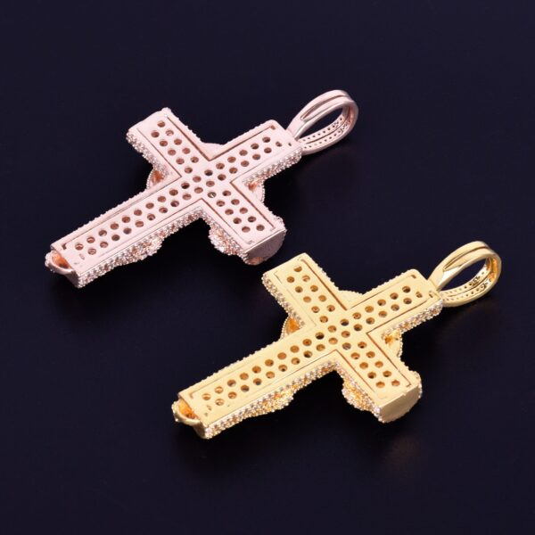 Snake Crucifix Cross Pendant With Fashion Necklace