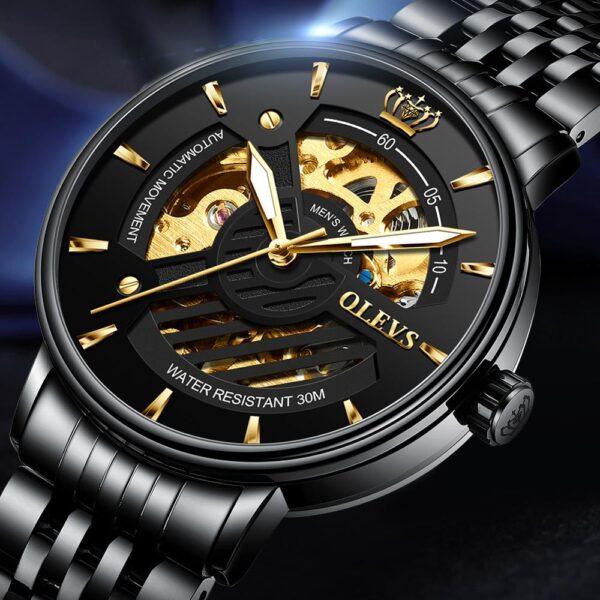 OLEVS Fashion Automatic Mechanical Men Watch Japan Movement Top Brand Casual Luxury Dress Business Wrist watch Relojes de hombre