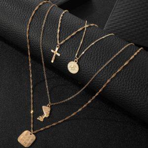 Women's Multilayer Choker, Necklace Fashion Jewelry Set