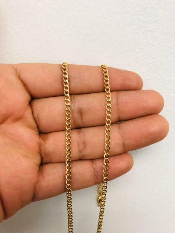 "Beautiful Jesus Cross Pendant With Necklace 22"""