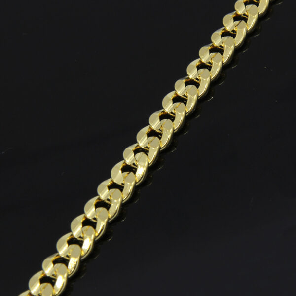 Fashion Concave Cuban Link Chain Necklace Jewelry