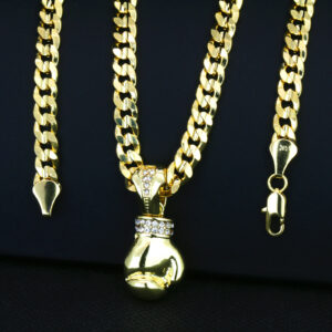 Boxing Gloves Pendant With 30