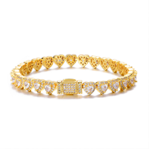 Women's 7MM Iced Out AAA+ CZ Stones Tennis Bracelet