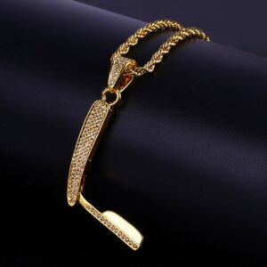 "Urban Style Hip-hop Barber Razor Pendant With 24"" Rope/Cuban Link Chain"
