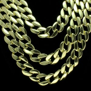Chunky Miami Cuban Link Choker Necklace Sizes18