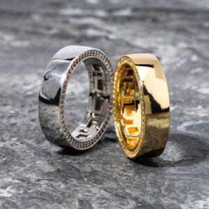 Couples Engagement Ring 925 Sterling Sliver Wedding Bands Gold/Sliver Color