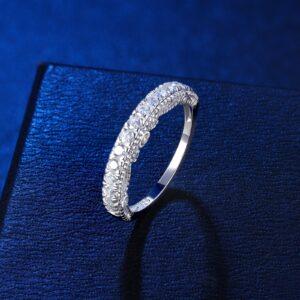 Women's Eternity Wedding Band Engagement Ring