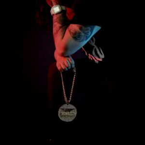 Iced Out AAA+CZ Bling Last Supper Pendant With Iced Cuban Link Chain Necklace