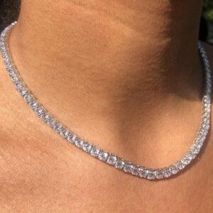 Women's Tennis Choker Chain AAA+CZ Stones 18
